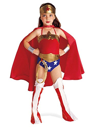 Rubies DC Super Heroes Collection Deluxe Wonder Woman Costume, -