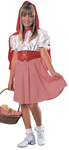 Rubies Child's Red Riding Hood Costume, Large - Little Red Riding Hood Girls Costume