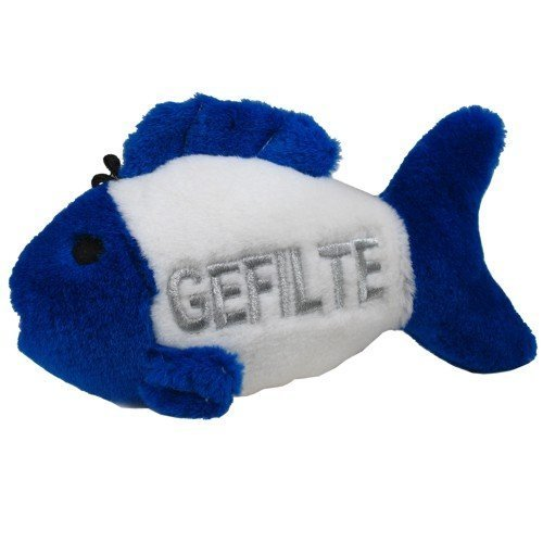 Multipet Look Who's Talking Gefilte Fish - Oy Vey! by Multi Pet