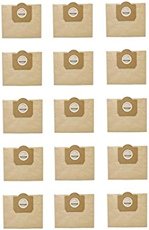 Bolsas para Aspiradoras 15Pcs Bolsa de Polvo for KARCHER WD3 de Premium WD 3300 M WD 3200 WD3.500 P Cleaner 6,959-130 Vacuum Reemplazo (Color : Yellow): Amazon.es: Hogar