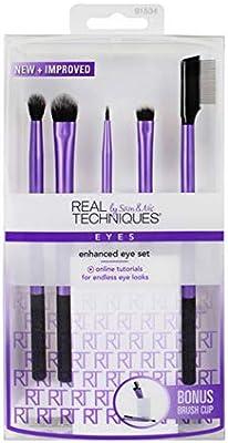 Real Techniques Enhanced Eye Set (3 Pack): Amazon.es: Belleza