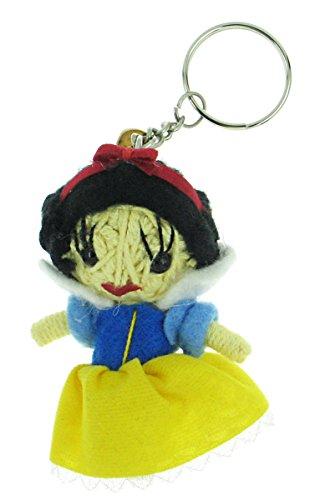 Snow White Voodoo String Doll Keyring Keychain (Evil Doll Costume)