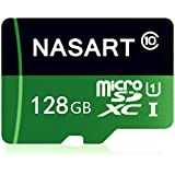 NASART Micro SD Card 128GB High Speed Class 10 Micro SD SDXC Card with Adapter