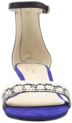 Sandal Snake Blue Cole Women's Adderly Black Print Haan Wedge Storm IqRagaxFw