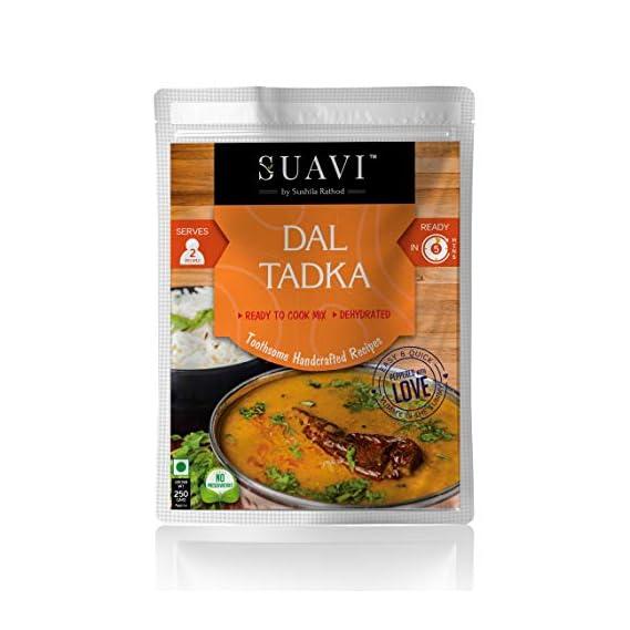Suavi Dehydrated Ready to Eat Dal Tadka Serves-2
