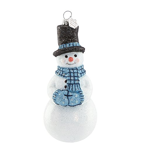Reed & Barton Snowflurries Snowman Figural Ornament