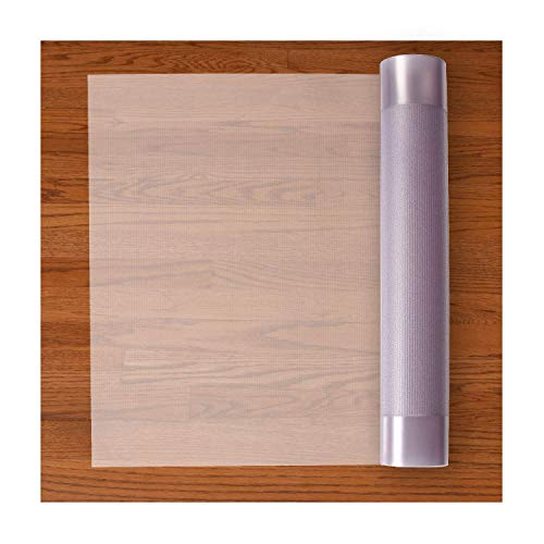Resilia Premium Heavy Duty Floor Runner/Protector for Hardwood Floors - Non-Skid, Clear, Plastic Vinyl, 27 Inches x 12 Feet (Pet Vinyl)