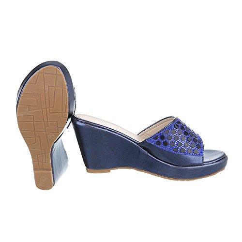 moderne Design Ital femme u Blau et Xf94 Jazz 7On7qxwHtZ