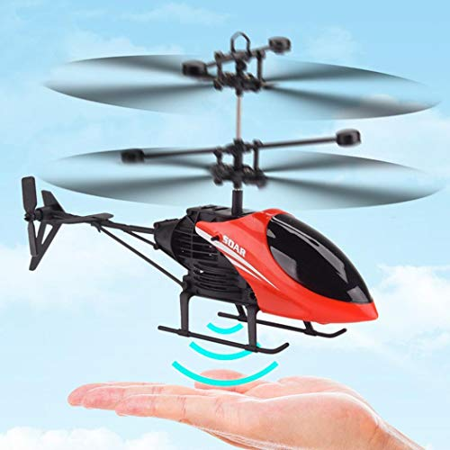 Fanala Portable USB Charging With LED Light Induction Flight Helicopter Toy Airplane & Jet Kits