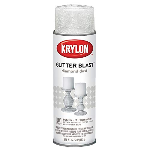 (Krylon K03804A00 Glitter Blast, Diamond Dust, 5.75 Ounce)