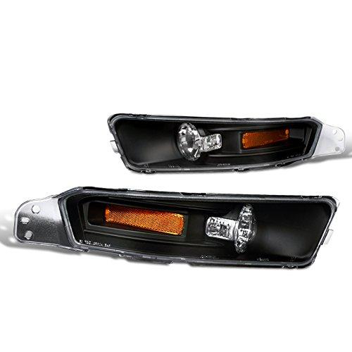 Spec-D Tuning 2LB-MST05JM-TM Ford Mustang Gt/ Base Euro Style Bumper Lights Black