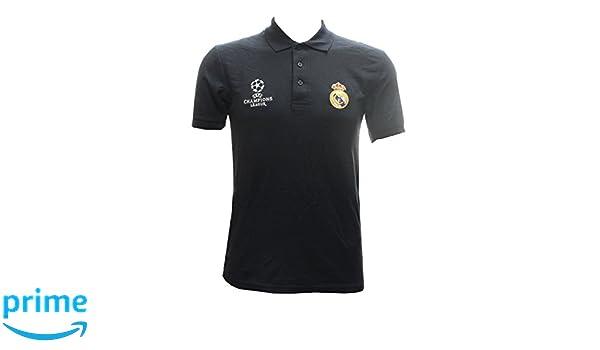 Unbekannt Real Madrid - Polo Camiseta Marina UEFA Champions League ...