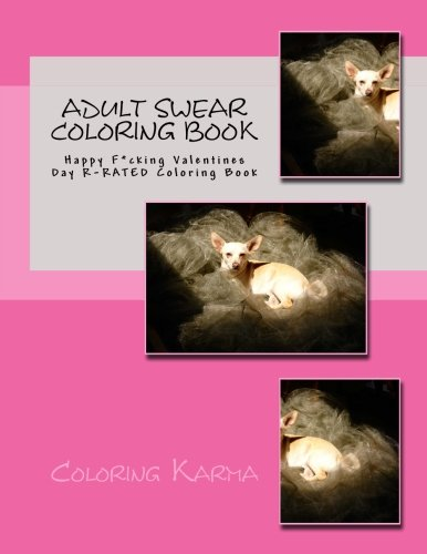 Adult Swear Coloring Book: Happy F*cking Valentines Day R-RATED Coloring Book