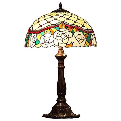 XNCH Lámpara de Mesa de Estilo Tiffany, lámpara de Mesa de ...