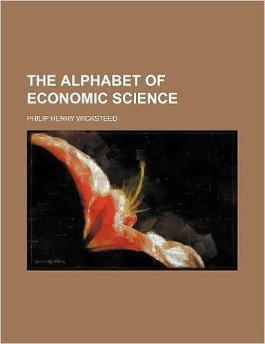 Book The Alphabet of Economic Science