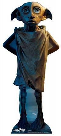 Dobby (Harry Potter and the Deathly Hallows) Life-Size Standup Poster , 36x15