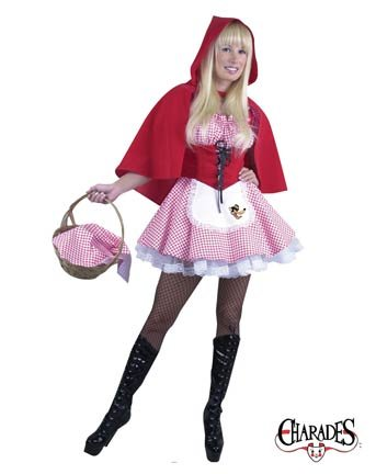 Little Red Riding Hood Adult Costume - Large
