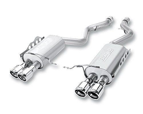 Borla 11764 Rear Section Exhaust - BMW M3 '08 4.0L V8 AT/MT -
