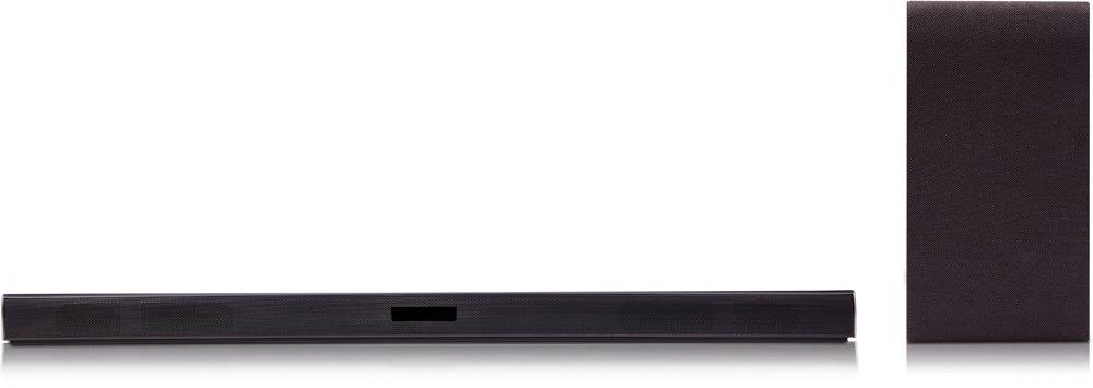 LG SH4D Inalámbrico y alámbrico 2.1canales 300W Negro Altavoz soundbar - Barra de Sonido (2.1 Canales, 300 W, DTS Digital Surround,Dolby Digital, 120 W, 1000 Hz, 82 dB)