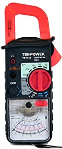 Tekpower TP7112 Analog AC 500 Amp Clamp on Meter With a Manual Reading Lock Feature, High Accuracy