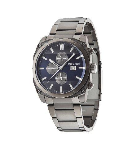 Police 14099JSU-03M Mens Milano Gunmeatl Steel Bracelet Watch