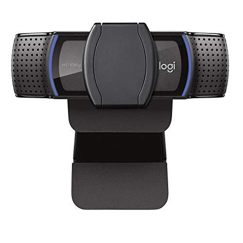 Webcam Full HD Logitech C920s com Microfone e Proteção de Privacidade para Gravações em 1080p Widescreen, Compatível com…