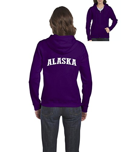 Mom's Favorite Alaska Hoodie Travelers Gift Ideas Places To Travel In Anchorage Home Of University Of Alaska UAA Womens Sweaters Zip - Women Anchorage In