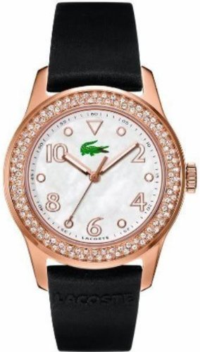 Lacoste Club Collection White Mother-of-Pearl Dial Women's Watch #2000649