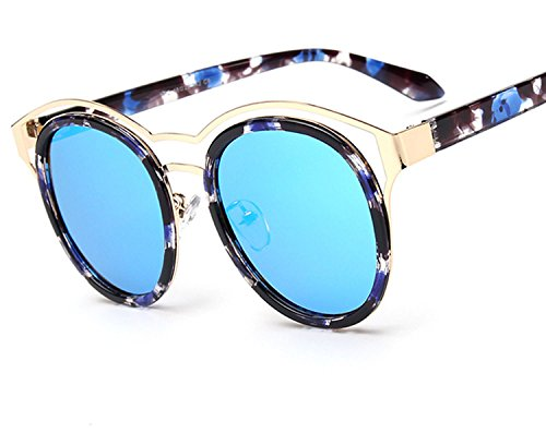 2018 new sunglasses retro trend polarized sunglasses,Black frame mercury ()