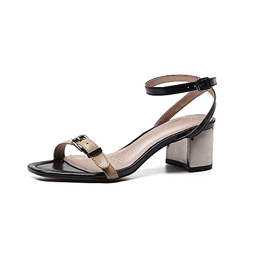 SHOESHAOGE Chaussures High Gras Mot Seule Chaussures Du Heeled Femmes Lier Femme En Sandales EU40 Avec Pour Femme Etudiants La rr8ndxwq