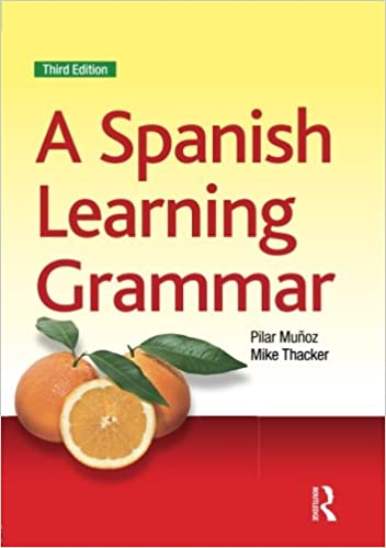 a spanish learning grammar pilar munoz