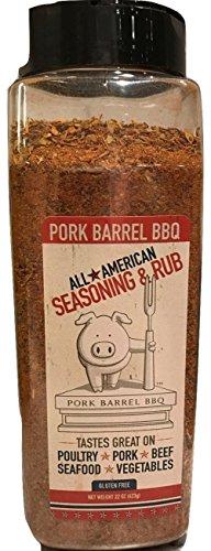 Pork Barrel BBQ Bulk All American Seasoning Mix, 22 Ounce