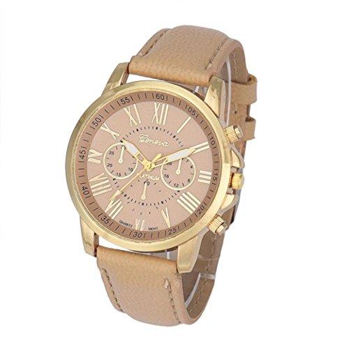 Women's Luxury Watch Clearance Sale! Canserin Faux Leather Analog Quartz Wrist Watch