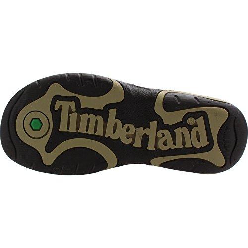 Flat Sandals Park Timberland Infant 2 strap Hopper Soil Plotting Leather pqxznwUq
