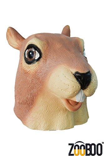 ZooBoo Kreepy Squirrel full head Mask Halloween Costume