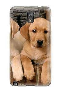 New Arrival Case Specially Design For Galaxy Note 3 (labrador Retriever Puppies )
