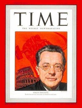 Palmiro Togliatti / Time Cover: May 05, 1947, Art Poster by Time Magazine
