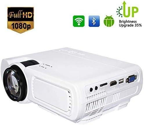 Proyector Mini proyector de Video portátil, DLP Home Cinema, 1800 ...