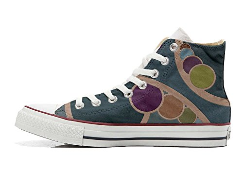 Retro Schuhe personalisierte Hi Converse All Schuhe Customized Star Handwerk wRUfv8q