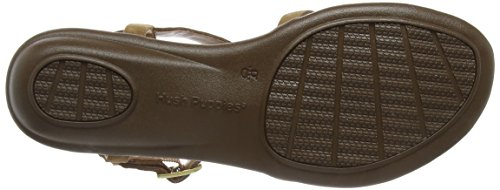 Hush Puppies Jeri Nishi - Sandalias para mujer Marrón (Tan Leather)