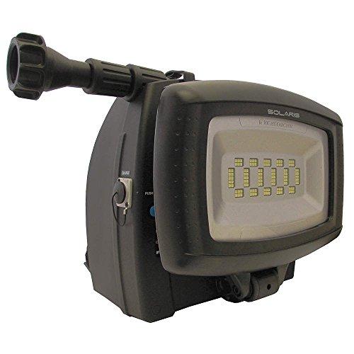 NightSearcher 511000LITH Solaris Lite-Li-ion Battery, Lumens (120° Beam Spread) 14,000 lmWork Light, One Size, Black