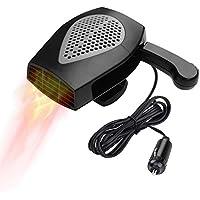 $25 » Car Heater, Portable Auto Electronic Heater Fan Fast Heating Defrost 12V 150W Car Defrost…