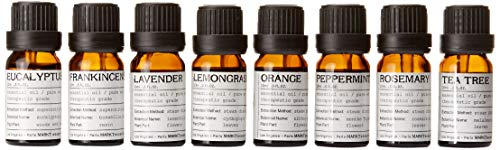 MARKT Aromatherapy Essential Oils Top 8 Set - Natural Pure Therapeutic Grade for Healing Solutions and Diffuser - Lavender, Peppermint, Tea Tree, Frankincense, Eucalyptus, Orange, Rosemary, Lemongrass