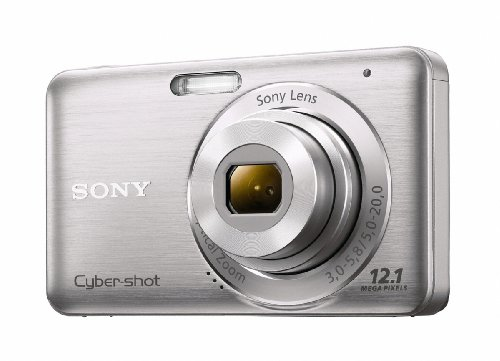 Sony DSC-W310 12.1MP Digital Camera with 4x Wide Angle Zo...