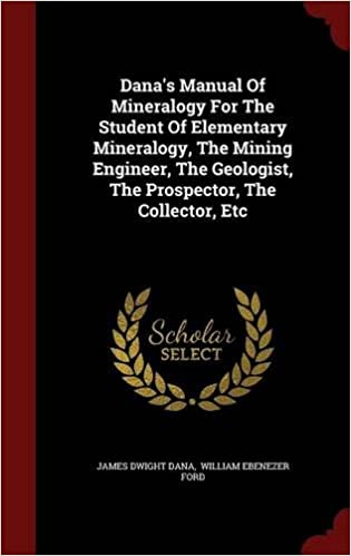 Download best book manual of mineralogy (after james d. Dana).
