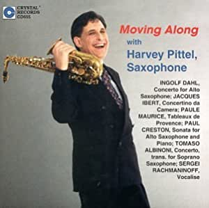 Moving Along with Harvey Pittel, Saxophone