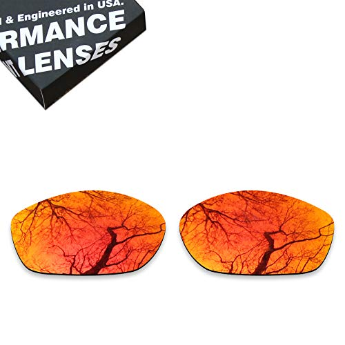 ToughAsNails Polarized Lens Replacement for Costa Del Mar Fisch Sunglass - More Options (Fisch Replacement Lenses)