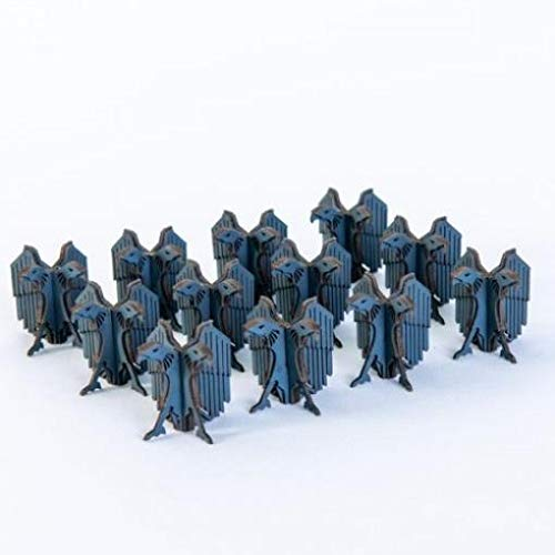 Jesserai - Sci-Fi - Buildings & Terrain 15mm Micro Scale Aquila Finials (Grey) (Pre-Painted)