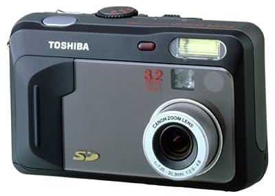 Toshiba PDR-3300 3.2MP Digital Camera w/ 2.8x Optical Zoom by Toshiba
