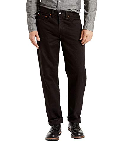 Youth 5 Pocket Jeans - Levi's Men's 550-relaxed Fit Jeans, Dark Stonewash, 36x30